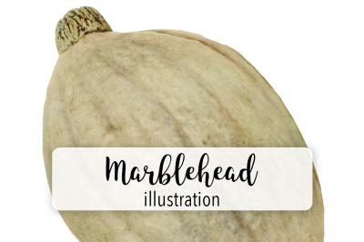 Autumn Pumpkins: Vintage Marblehead