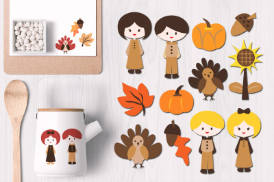Cute Thanksgiving Graphics