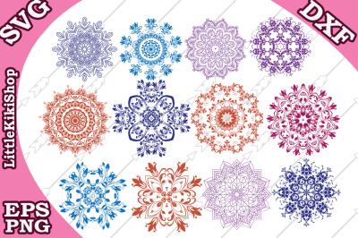 Mandala Design Svg, MANDALA SVG, Mandala Bundle Svg