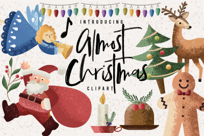 Almost Christmas Clipart