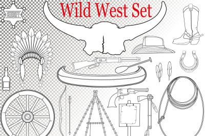 Wild West Set