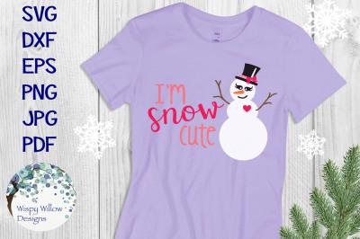 I'm Snow Cute