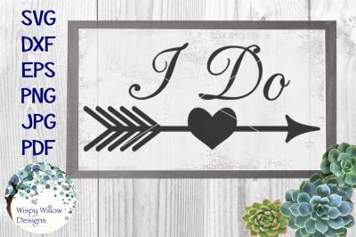 I Do Wedding Sign