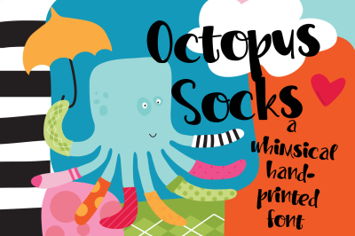 PN Octopus Socks