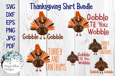 Thanksgiving Turkey Shirt Bundle