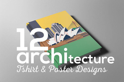 Architecture Poster T-shirt Set