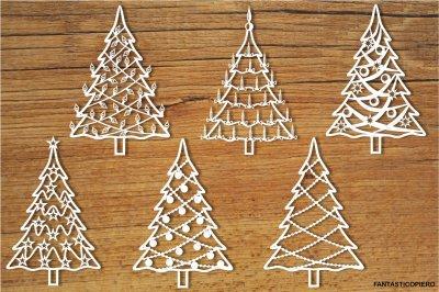 Christmas tree 2 SVG files