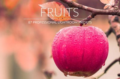 Fruits Lr Presets