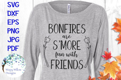 Bonfires are Smore Fun with Friends