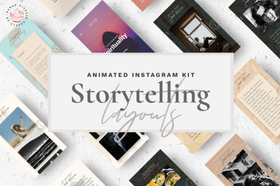 Autumn / Fall - Storytelling Kit Animated IG Stories