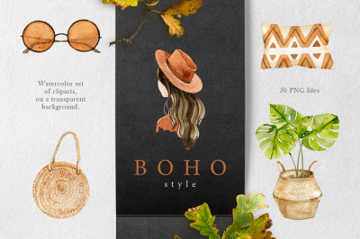 Boho style collection