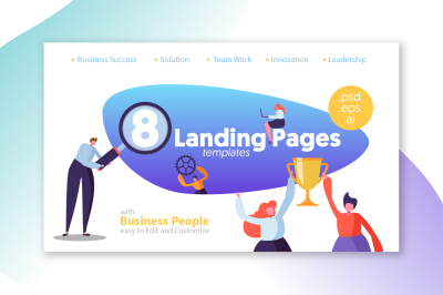 Landing Page Templates Business