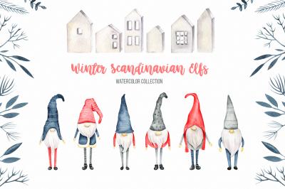 Winter Scandinavian Elfs