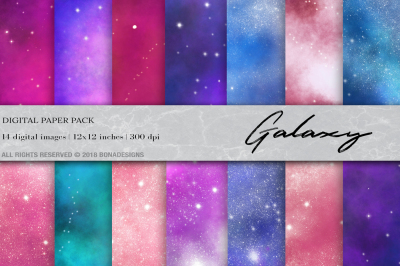Galaxy Digital Paper, Space Digital Paper