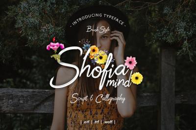 Shofia Mind Script Font