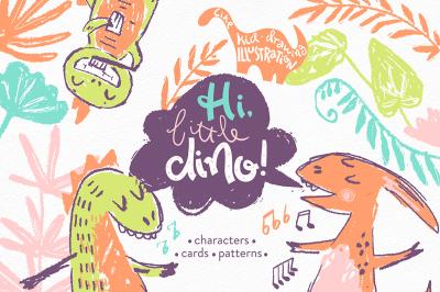 Hi, little DINO! Graphic kit