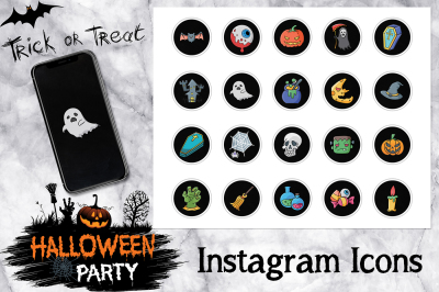 Halloween Instagram Icons