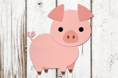 Little Pig | SVG | PNG | DXF