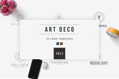 Art Deco Logo Templates | Vol.2
