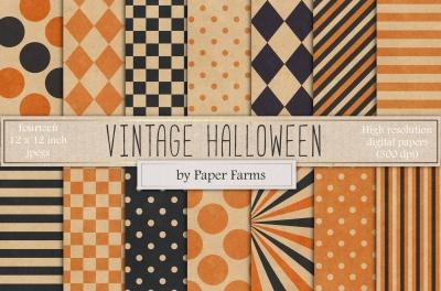 Vintage Halloween backgrounds
