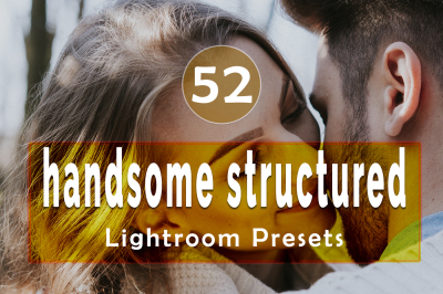 52 handsome structured Lightroom Presets(90% Discount for Christmas)