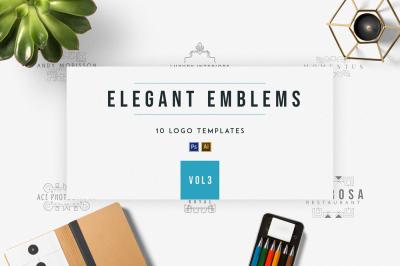 Elegant Emblems | vol.3