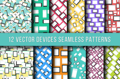 Technics And Devices Seamless Patterns