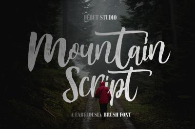 Mountain Script (Sale $1)