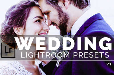 Wedding Lightroom Presets v1(50% Discount for Christmas)