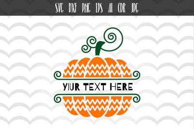 Pumpkin SVG, Pumpkin Cut File, Silhouette Cut File