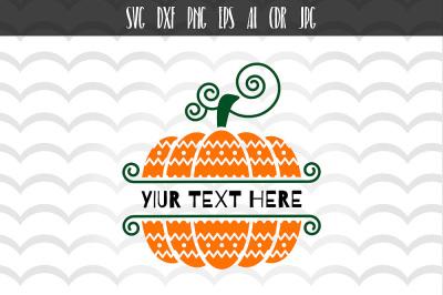 Autumn Thanksgiving Pumpkin SVG
