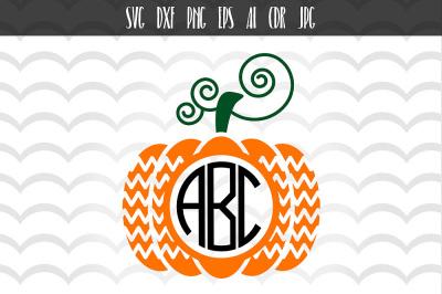 Pumpkin SVG DXF files, Halloween svg