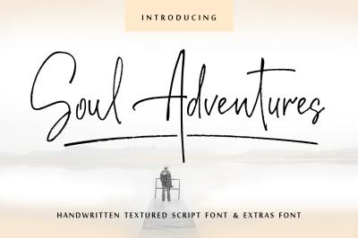Soul Adventures script font + Extras