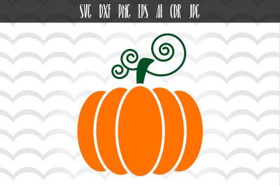 Pumpkin SVG, Fall Pumpkin SVG, Pumpkin Cut File