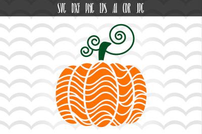 Thanksgiving Pumpkin SVG