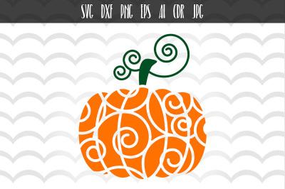 SVG Pumpkin Cut File