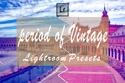 36 Period of Vintage Lightroom Presets(90% Discount for Christmas)