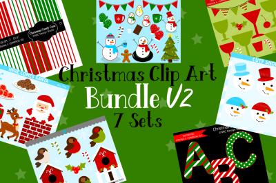 Christmas Clip Art Bundle V2
