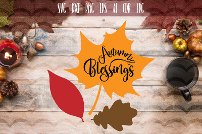 Autumn Blessed SVG