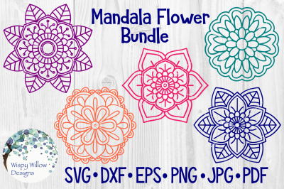 Mandala Flower Bundle