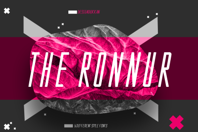 The Ronnur Font Family