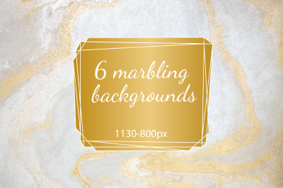 Marbling backgrounds