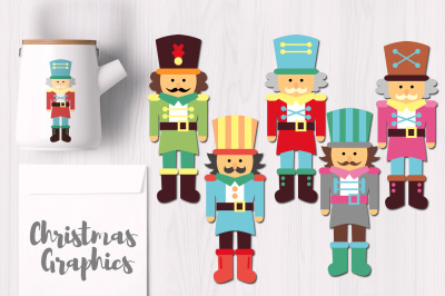 Nutcracker Cute Christmas Graphics