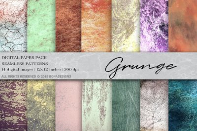 Grunge Background Digital Paper