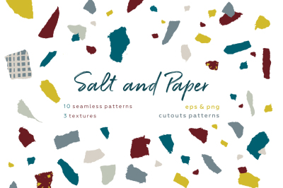Salt & Paper. Pattern set.