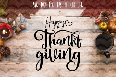 Funny Happy Thanksgiving day SVG