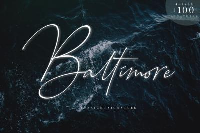 Baltimore - Font Family