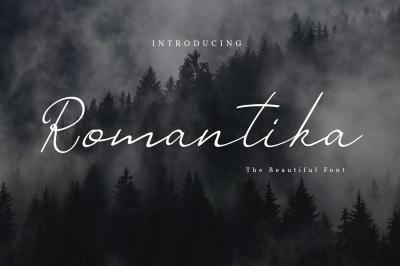 Romantika Script Font