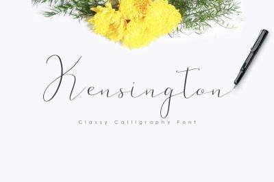 Kensington Script Font
