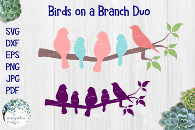 Birds on a Branch Duo